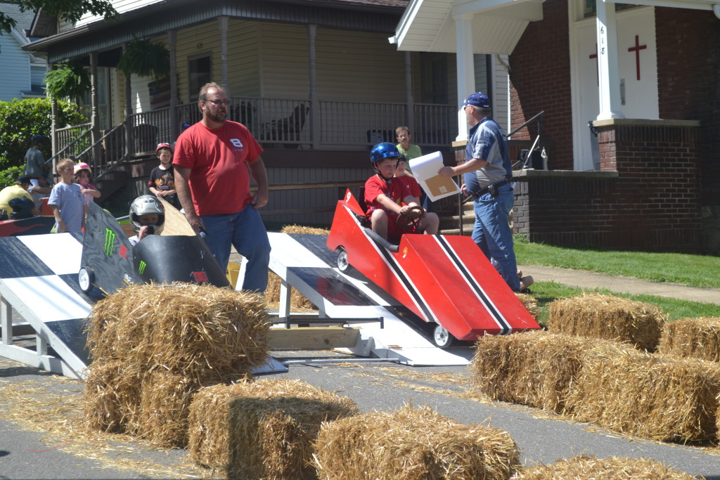 2014 Knox, Pennsylvania Horse Thief Days Soap Box Derby Day