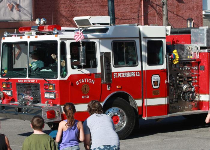 2015 Knox, Pennsylvania Horsethief Days Firemen's Parade31