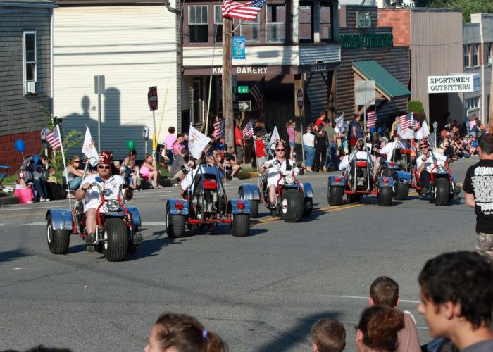 2015 Knox, Pennsylvania Horsethief Days Firemen's Parade44