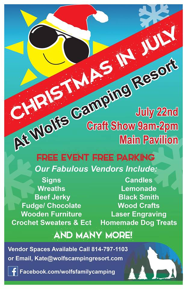 Christmas In July Camping.Christmas In July At Wolf S Camping Resort Knox Area