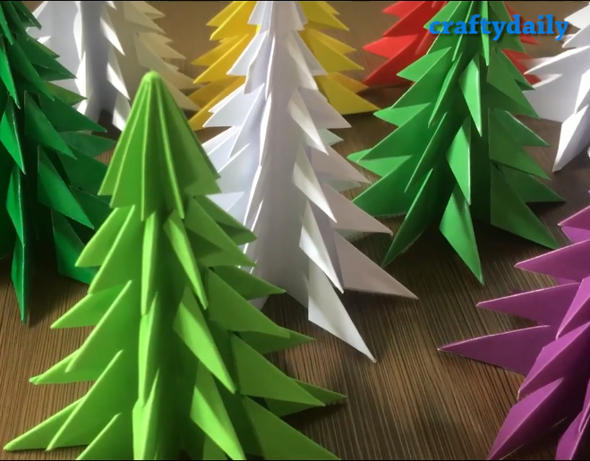 3d Paper Christmas Tree.3d Paper Christmas Trees Knox Area Information
