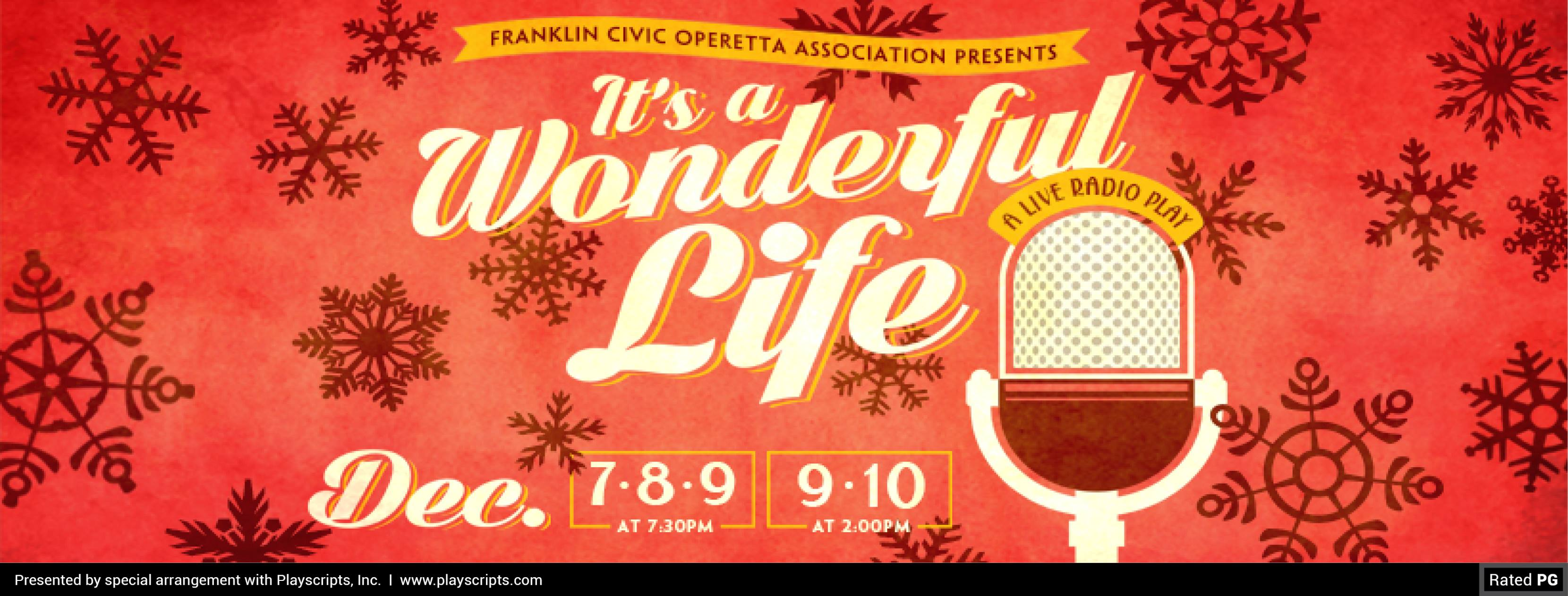 It 39 S A Wonderful Life At Barrow Civic Theatre Knox Area Information