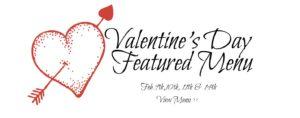 Allegheny Grille Valentines Day Menu