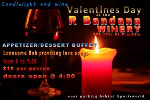 Valentines Day at Red Bandana Franklin