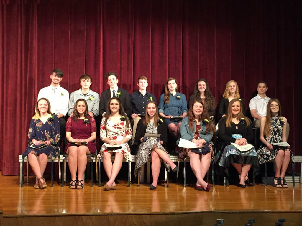 Knox Pa Weather >> 15 Students at Keystone High School are Inducted into the National Honor Society - Knox Area ...